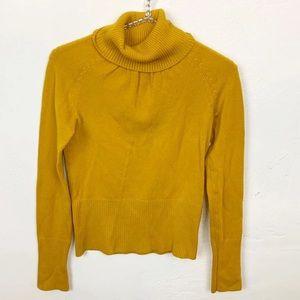 Takeout l Mustard Yellow Turtleneck